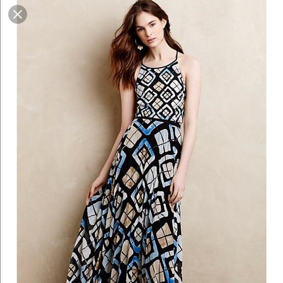 Anthropologie Dresses Flash Sale Euc Sachin And Babi Marisol Maxi